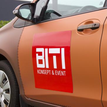 Magnetskilt -  - Skilt til bil - Bilreklame - Magnet til bil - Bedste kvalitet til lavest pris