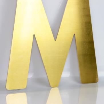 Facadebogstaver - Messing bogstaver - Kobber bogstaver - Bogstaver til butik - Bogstaver til butikfacade - Metal bogstaver i alle størrelser