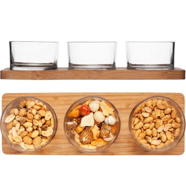 Snackglas, serveringsglas