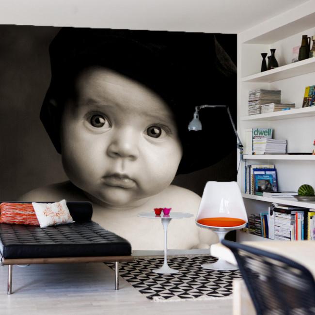 Tapet med fotoprint. Upload dit foto i vores webshop