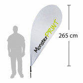 F - Beachflag, large