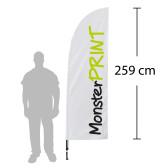 D - Beachflag, medium