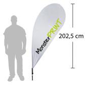 F - Beachflag, medium