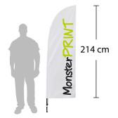 D - Beachflag, small