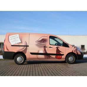 Totalindpakning af din bil - Indpakning af firmabil - Specialindpakning - Folieindpakning af bil - Firmabil
