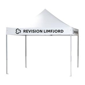 Pavillion til messer, festivaler eller markeder - Reklame pavillion - Messeudstyr - Pavillion med logo - Pavillion med dit eget design - Bliv synlig med en pavillion