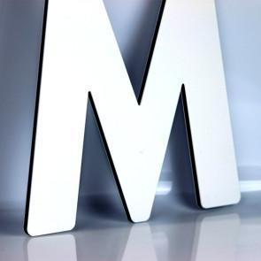 Facadebogstaver - Bogstaver i sandwichplade - Dibond bogstaver - Bogstaver til butik - Bogstaver til butikfacade - Dibond bogstaver i alle størrelser