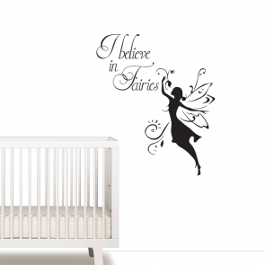 I believe in faries wallsticker