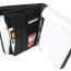Dokumentmappe med blok og indstik