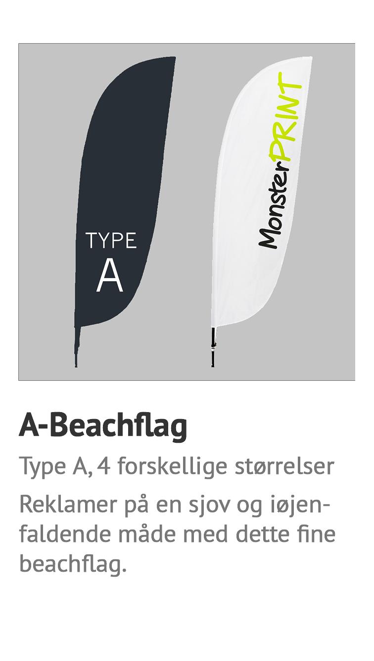 A-beachflag - billigt beachflag, strandflag, surfflag