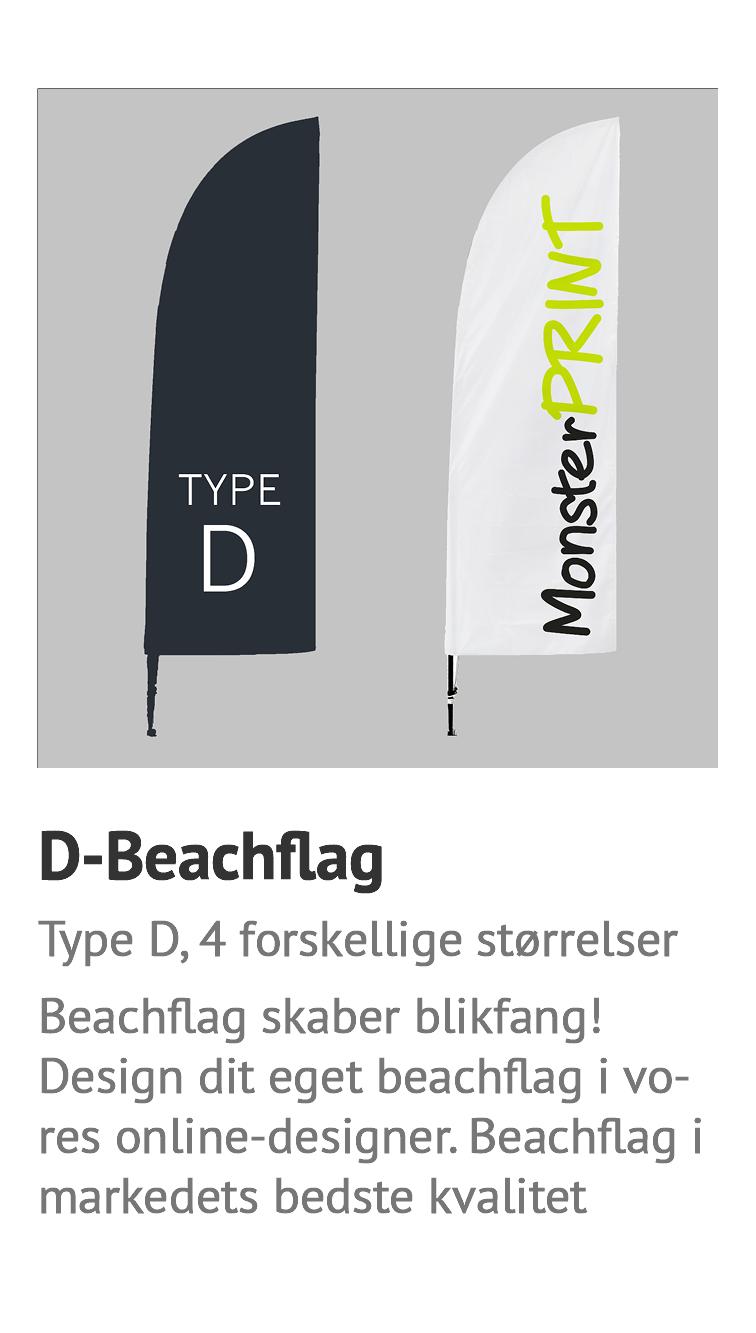 D-Beachflag, Billigt beachflag, strandflag, surfflag