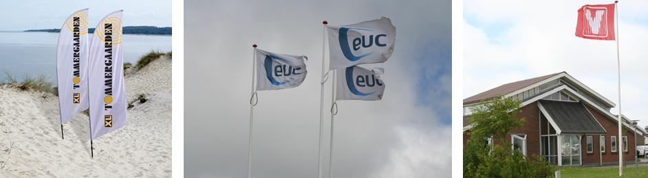 Reklameflag og beachflag til din virksomhed. Læs mere her
