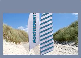 Beachflag - Flag - Messeflag - Læs mere