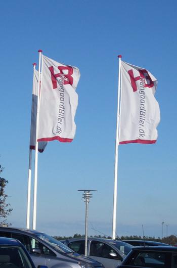 Reklameflag skaber blikflag. Se mere her