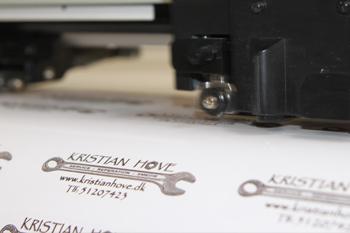 Produktion af klistermærker